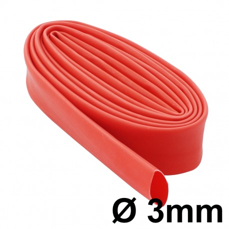 Tubo Termocontraible Aislante Colores 2:1 Diámetro 3mm 1 Metro