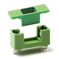 Zócalo Porta Fusible 5x20mm para PCB Modelo PTF-77