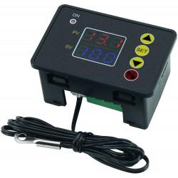 W2310 Controlador de Temperatura Con Alarma Sonora ON OFF -55 a 120°C