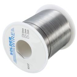 Rollo de Estaño Nucleo Flux 2.0% 63/37 200grs Diámetro 1mm