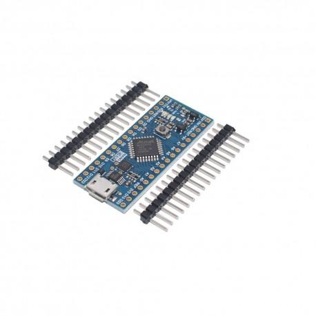 Arduino NANO EVERY Atmega4808 Conector Micro USB + 10LEDs + 10Resistencias