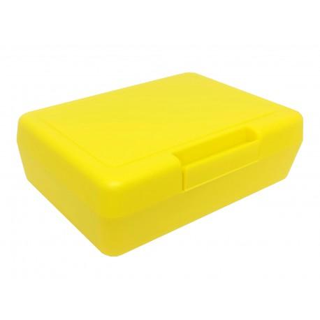 Caja Transportadora Organizadora Polipropoleno Amarillo 130x90x40mm