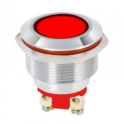 Luz Piloto Metal 22mm para Panel Colores IP65 220V con Bornes