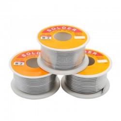 Rollo de Estaño Nucleo Flux 2.0% 63/37 100grs Diámetro 1mm