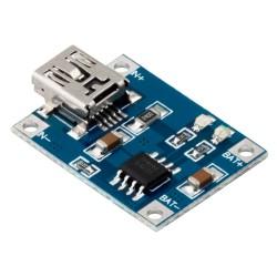 Módulo Cargador de Batería Li-ión LiPo Mini USB TP4056