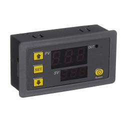 W3230 Interruptor Termostato Controlador de Temperatura 24V ON OFF -55 a 120°C