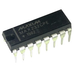 Circuito Integrado MAX232 Conversor Serial RS232 a Serial TTL