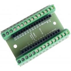 Base Adaptador con Terminales de Tornillo Bornera para Arduino NANO