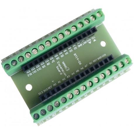 Adaptador con Terminales de Tornillo para Arduino NANO