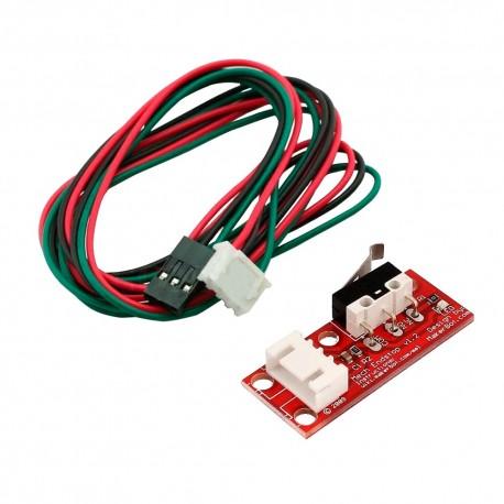 Sensor Final de Carrera Mecánico Micro Switch Endstop con Cables de Conexión