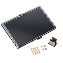 Pantalla LCD Táctil 5 Pulgadas 800x480 HDMI para Raspberry Pi