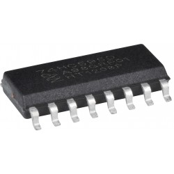 SMD Multiplexor Registro de Desplazamiento Shift Register 8-bit 74HC595D