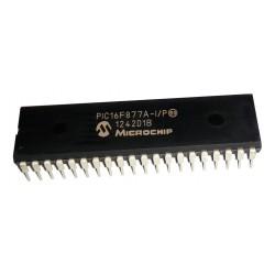Microcontrolador 8bits Familia 16F PIC16F877A 40 Pines