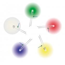 LEDs Ultrabrillantes Varios Colores 5mm