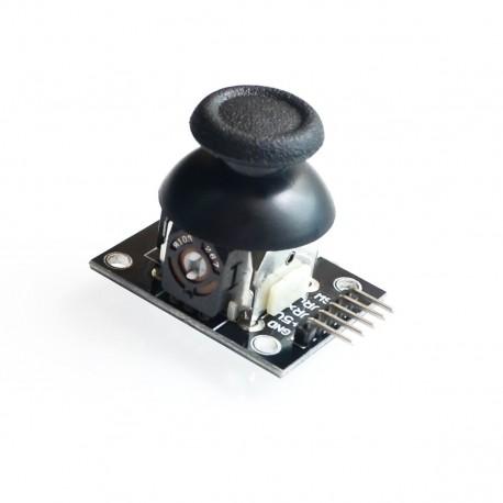Módulo Joystick Análogo de 2 Ejes con Botón Central KY0-23