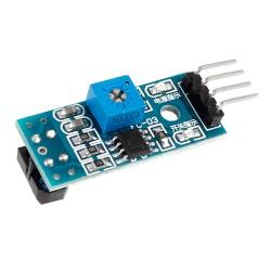 Sensor Óptico de Reflexión Seguidor de Línea Infrarrojo Modelo TCRT5000