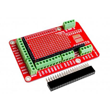 Proto Shield Raspberry Pi Rev. 2 para Modelos B+ V2 V3 3B Plus