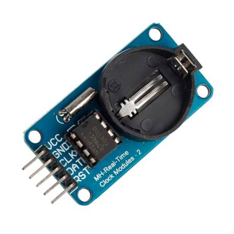 Módulo DS1302 RTC Reloj de Tiempo Real sin Batería