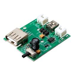 Módulo LiPo Rider Cargador Baterías de Polímero de Litio mediante Panel Solar o Mini USB