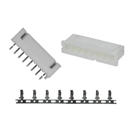 Juego de Conector de 8 Pines para PCB Modelo XH 2.54 8P