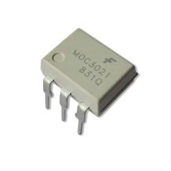 Circuito Integrado OptoTriac MOC3021